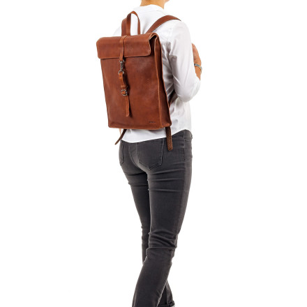- Burkely - Antique Avery Backpack Tan Tassen