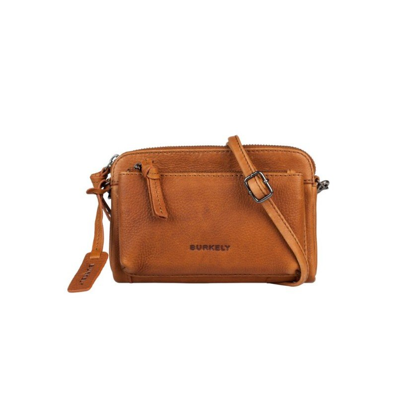 Burkely Antique Avery Mini Bag Schoudertas Cognac 871856