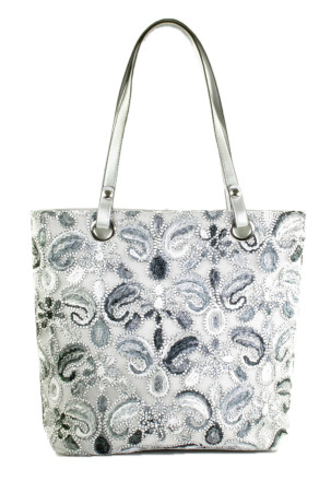 - Mia and Jo - NY591 Silver/Blue Damestassen