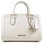 Michael Kors - Zoe Medium Satchel Light Cream Tassen - Accessoires - Room