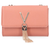 Valentino by Mario Valentino - Divina VBS1R403G Roze Tas - Accessoires - Roze