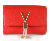 Valentino by Mario Valentino - Divina VBS1R403G Rood Tas - Accessoires - Rood
