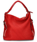 Studio di Lauro - Eugenia Rood Tas - Accessoires - Donker Rood