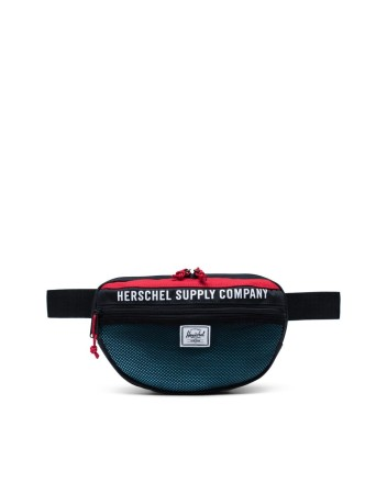 - Herschel - Nineteen Hip Pack Athletics Black/Red/Bachelor Button