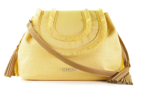 - Lollipops - Daria Medium Shoulder Bag Yellow Damestassen