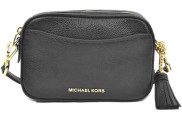 Michael Kors - Convertible Camera Belt Bag Black Tassen - Accessoires - Zwart
