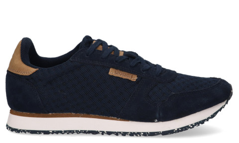 Sneakers - Woden - Ydun WL028 Navy Damessneakers