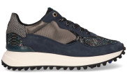 Floris van Bommel - 85307 09 Damessneakers - Dames - Blauw Divers