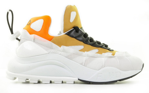 Sneakers - F-WD - FW33032D Wit/Multicolor Damessneakers