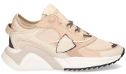 Philippe Model - Eze Mondial Resau Beige Damessneakers - Dames - Beige