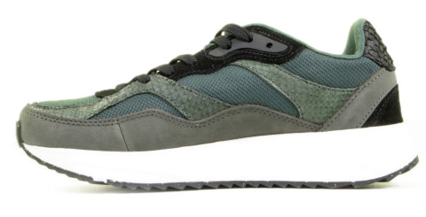 Sneakers - Woden - Sophie Mix WNS5050 Green Damessneakers