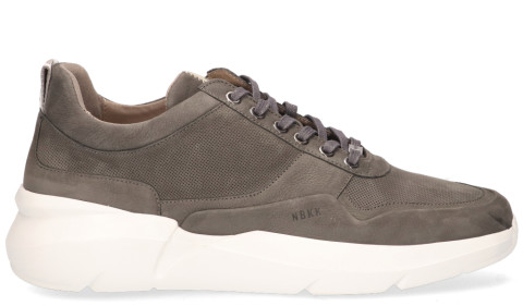 Sneakers - Nubikk - Elven Tanuki Grey Herensneakers