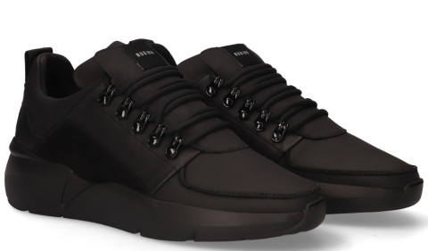 Sneakers - Nubikk - Roque Royal Zwart/Zwart Herensneakers
