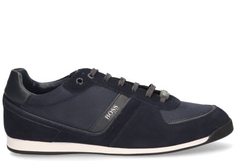 Sneakers - Hugo Boss - Glaze Low Donkerblauw Herensneakers