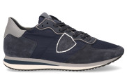 Philippe Model - Tropez X Mondial Gomme Bleu Herensneakers - Heren - Blauw Divers