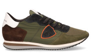 Philippe Model - Tropez X Mondial Militaire Herensneakers - Heren - Groen Divers