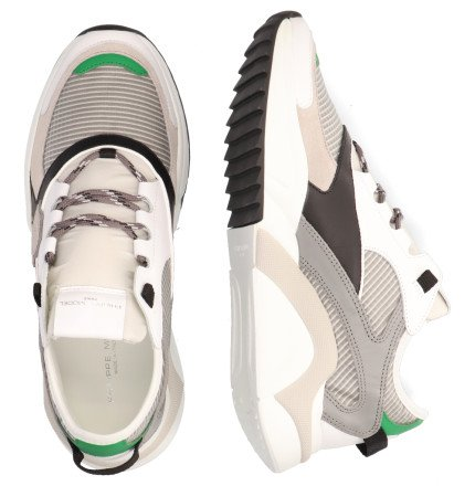 Sneakers - Philippe Model - Eze Mondial Tech Grijs Herensneakers