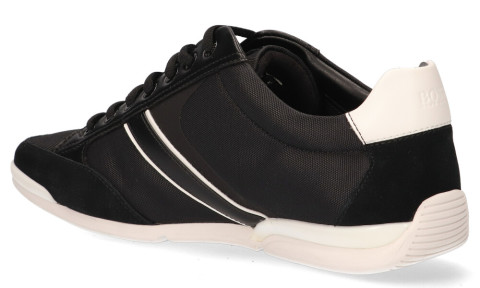 Sneakers - Hugo Boss - Saturn Low MX Zwart Herensneakers