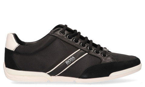 Sneakers - Hugo Boss - Saturn Low MX Zwart/Wit Herensneakers