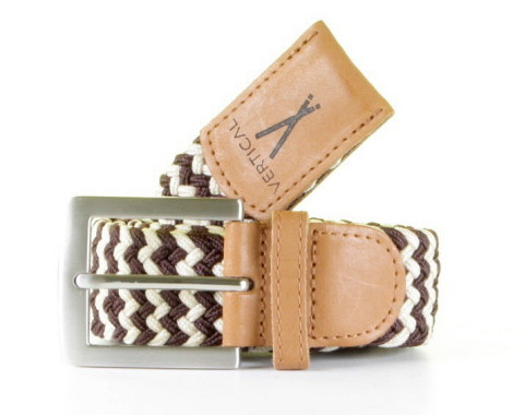 - Vertical - Belt Beige/Brown Herenriem