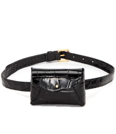 - Fabienne Chapot - Cindy Mini Purse Belt Black Tassen