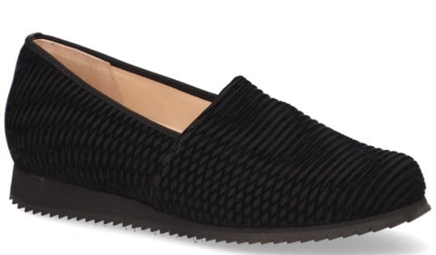 Loafers - Hassia - Piacenza Zwart Damesloafers