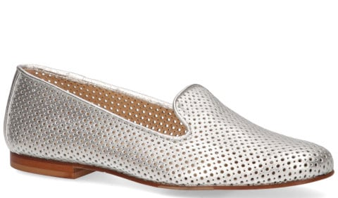 Loafers - Di Lauro - 814 Zilver Damesloafers