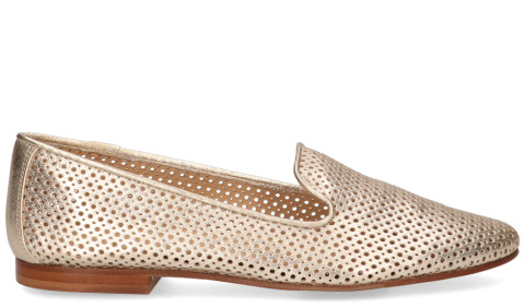 Instappers - Di Lauro - 814 Goud Damesloafers