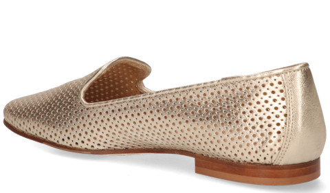 Loafers - Di Lauro - 814 Goud Damesloafers