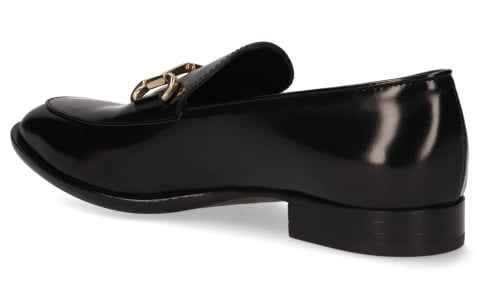 Instappers - AGL - D714054 Nero Damesloafers