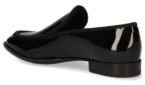 Instappers - AGL - D714070 Moon Nero Damesloafers