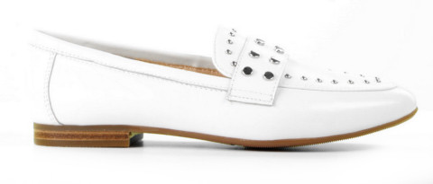 Instappers - Si - Kensia White Damesloafers