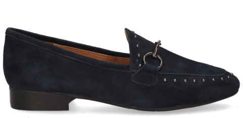 Loafers - Si - Jara Donkerblauw Damesloafers