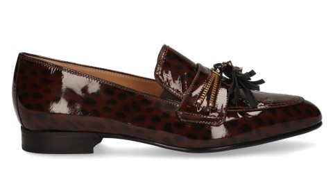 Instappers - Nalini - 20I088A Bruin Damesloafers
