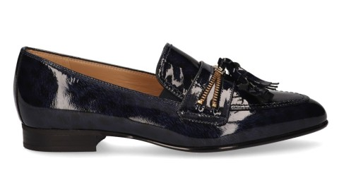 Instappers - Nalini - 20I088A Donkerblauw Damesloafers