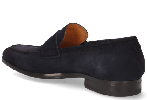 Instappers - Magnanni - 22816 Donkerblauw Herenloafers