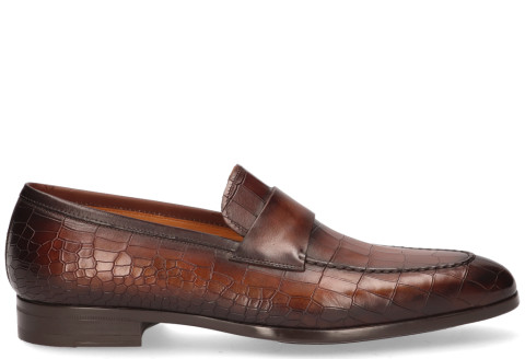 Instappers - Magnanni - 22816 Bruin Herenloafers