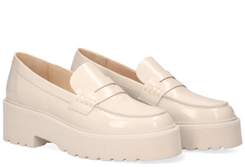 Loafers - VIA VAI - Lois Bell Beige Damesloafers
