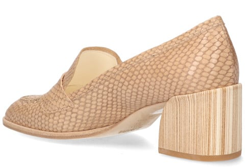 Instappers - Zinda - 1097 Taupe Damesloafers