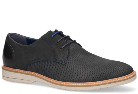 Veterschoenen - Daniel Kenneth - Kael Navy Heren Veterschoenen
