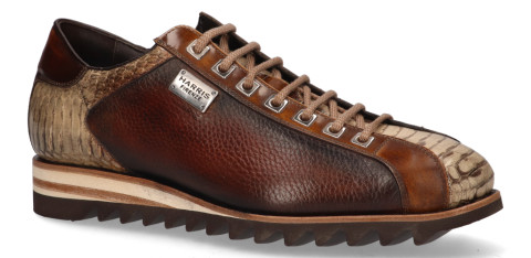 Veterschoenen - Harris - 2817 Bruin/Beige Herensneakers