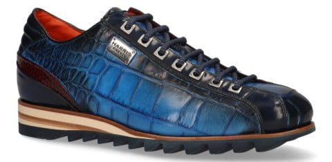 Veterschoenen - Harris - Tributo Blauw Herensneakers