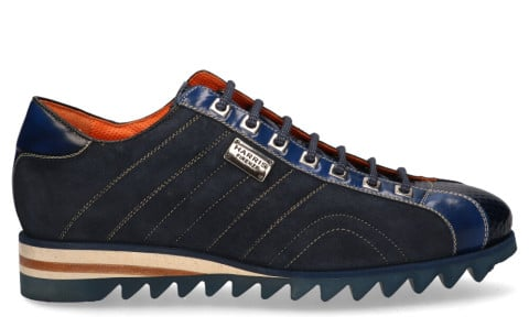 Veterschoenen - Harris - 0894 Donkerblauw Herensneakers