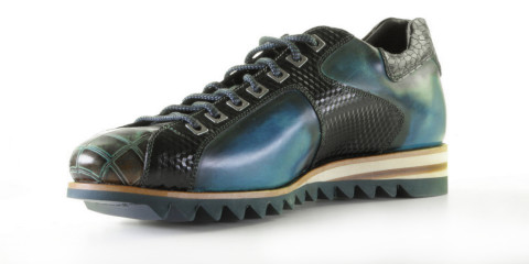 Veterschoenen - Harris - 0780 Blu/Graffiato Sneakers