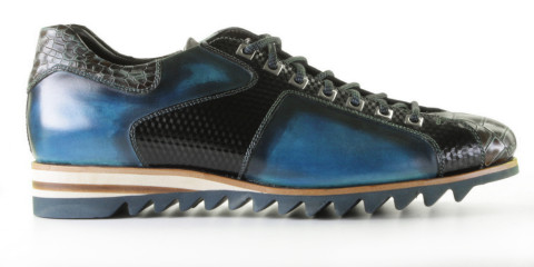 Veterschoenen - Harris - 0780 5539 Blue Electric Sneakers