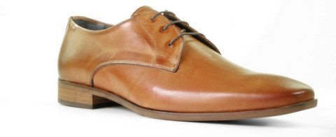 Veterschoenen - Daniel Kenneth - Kevano Cognac Heren Veterschoenen