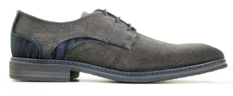 Veterschoenen - Braend - 16325 Carbon/Navy Heren Veterschoenen