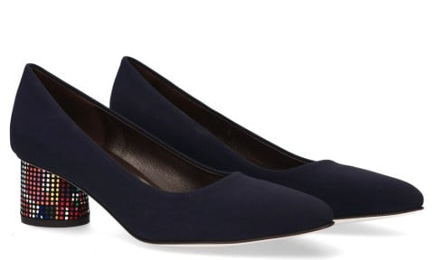 Pumps/Ballerina's - Brunate - 50817 Donkerblauw Damespumps