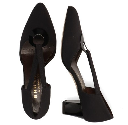 Pumps/Ballerina's - Brunate - 50688 Zwart Damespumps