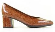Hispanitas - Arizona HI99221 Cuero Dames Pumps - Dames - Cognac